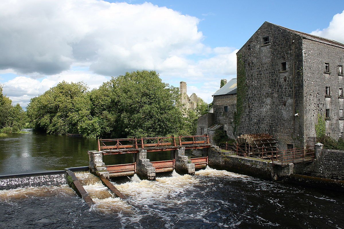 Irish Mill, Roscommon - River Suck