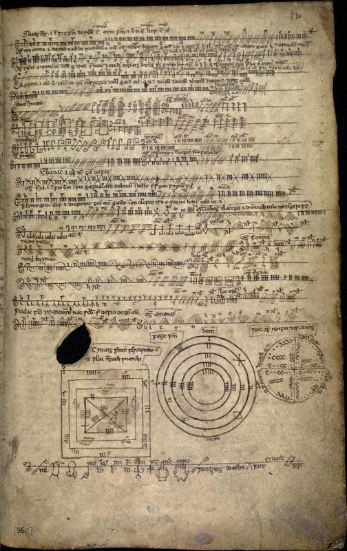 170r of the Book of Ballymote (1390)