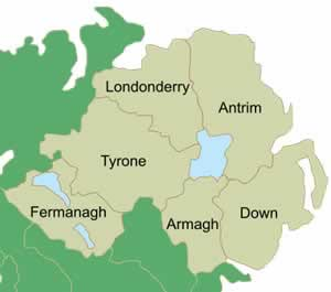 Map Of Northern Ireland Counties.Northern Ireland A Beginner S Guide Lora O Brien Irish Author