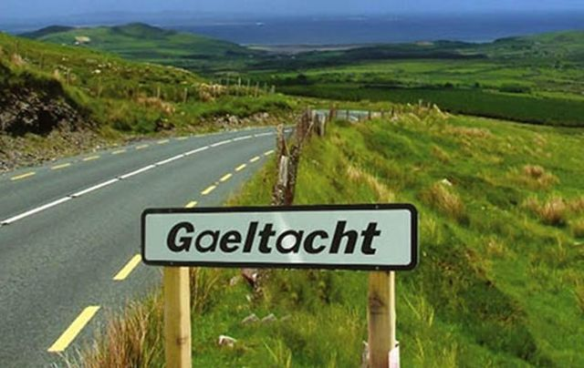 gaeltacht Irish language region