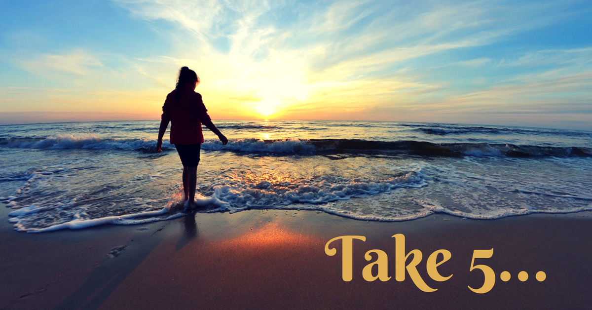 Take 5 for the health benefits of meditation