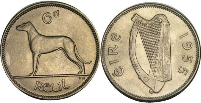 The Old Irish Sixpence