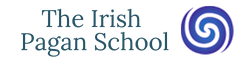 The Irish Pagan School Logo White